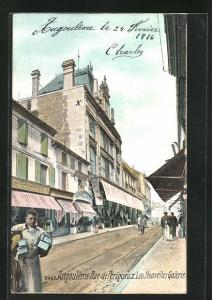 AK Angouleme, Rue de Perigueux, les Nouvelles Galeries