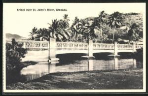 AK St. John`s River, Bridge, Brücke und Palmen