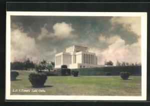 AK Oahu, HI, L. D. S. Temple Laie