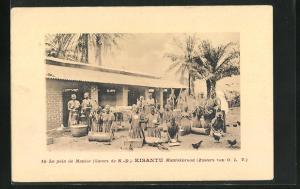 Passepartout-AK Kisantu, Le pain de Manioc