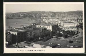 AK Valparaiso, Panorama Se. Almendral