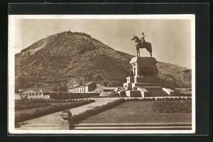 AK Santiago, Monumente al General Baquedano