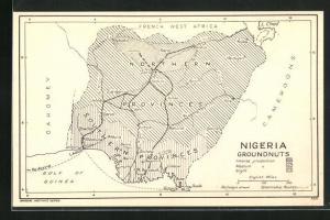 AK Lokoja, Landkarte von Nigeria