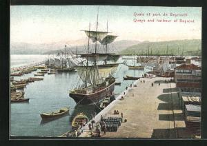 AK Beyrouth, Quais et port