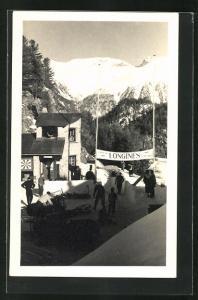 AK St. Moritz, Cresta-Rennen, Rodelbahn