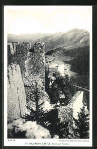 AK Zypern, St. Hilarion Castle, Topmost Towers