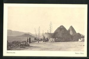 AK Basutoland, Native Huts