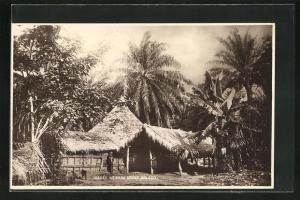 AK Bolobo, Ibaka`s Ngumba House, Gebäudeansicht