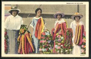 AK Hawaii, HI, Hawaiian lei Sellers