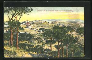 AK Cenin, Vue de Broumanah et du Cenin