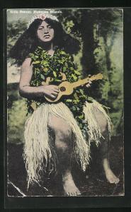 AK Hawaii, HI, Hula Dancer