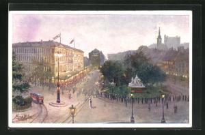 AK Bratislava, Hotel Carlton & Savoy
