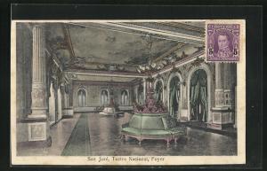 AK San Jose, Teatro Nacional, Foyer