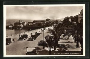 AK Beyrouth, Avenue des Francais