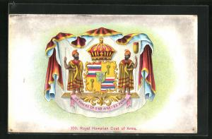 AK Hawaii, HI, Royal Hawaiian Coat of Arms
