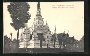 AK Phnom-Penh, Pagode edifiee par le roi Norodom