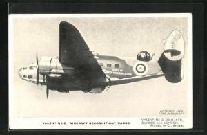 AK Flugzeug The Lockheed Hudson III., British Reconnaissance Bomber in the air