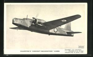 AK Flugzeug The Vickers Armstrongs Wellington Ic, British Bomber in the air