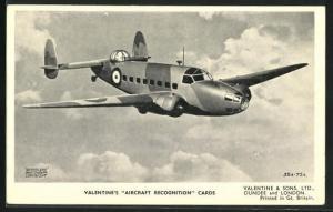 AK Flugzeug Lockheed Hudson über den Wolken