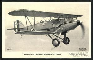 AK Flugzeug Hawker Audax im Einsatz