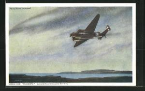 AK Flugzeug Lockheed Hudson, General Reconnaissance Bomber in the air