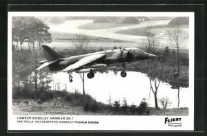 AK Flugzeug Hawker Siddeley Harrier Gr. 1 gewinnt an Höhe