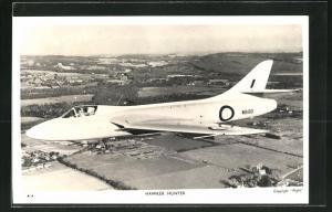AK Flugzeug Hawker Hunter im Einsatz