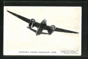 AK Dundee, Valentine & Sons Ltd., The Douglas Havoc II., Britisch Night Fighter