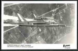 AK Hawker Siddeley Gnat Trainer, britisches Schulflugzeug