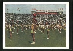 AK Moskau, Turnfest 1954, Ballgymnastik