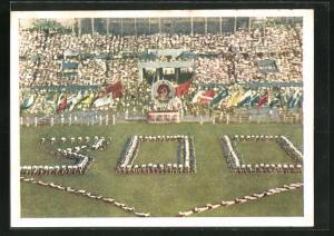 AK Moskau, Turnfest 1954, Eröffnungsfeier