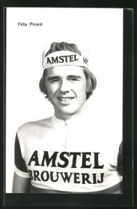 AK Frits Pirard, Radrennfahrer in Trikot