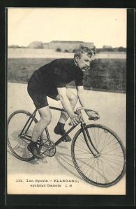 AK Ellegard, sprinter Danois, dänischer Radrennfahrer