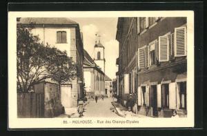 AK Mulhouse, Rue des Champs-Elysèes