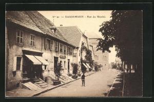 AK Dannemarie, Rue du Marchè