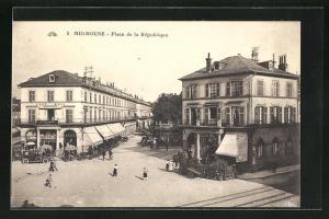 AK Mulhouse, Place de la Rèpublique