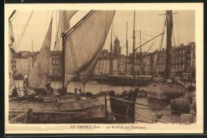 AK St-Tropez, Le Port et ses Tartanes