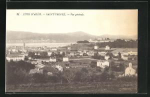 AK Saint-Tropez, Vue gènèrale