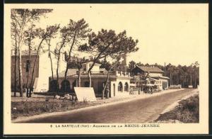 AK La Nartelle, Auberge de la Reine-Jeanne