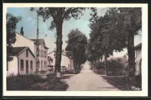 AK Vauvillers, Avenue de la Gare