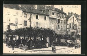 AK Vesoul, Place du Jardinage, Maison Espagnole