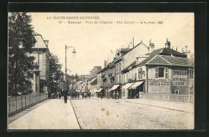 AK Vesoul, Pont de l` Hopital, Rue Carnot