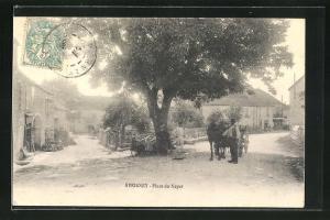 AK Avrigney, Place du Noyer