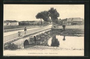 AK Dampierre-sur-Salon, Pont, Route de Gray