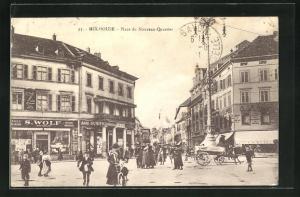 AK Mulhouse, Place du Nouveau-Quartier