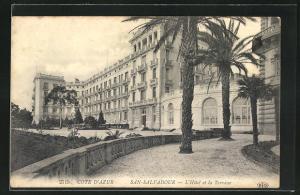 AK San-Salvadour, L` Hotel et la Terrasse