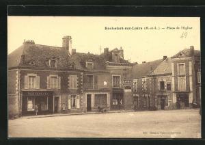 AK Rochefort-sur-Loire, Place de l` Eglise