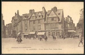 AK Rennes, Vieux Hotels Place Sainte-Anne