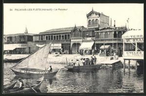AK Palavas-les-Flots, Le Passeur