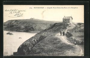 AK Rotheneuf, Chapelle Notre-Dames-des-Flots et le Semaphore